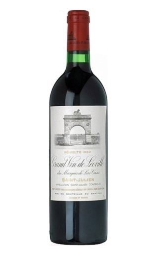 Вино Grand Vin de Leoville du Marquis de Las Cases 1982 Saint-Julien 0,75 л