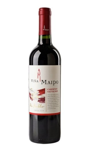 Вино Vina Maipo Cabernet Sauvignon Central Valley 2015 0,75 л