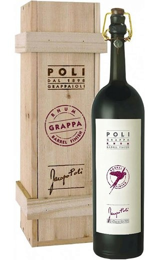 Граппа Grappa Poli Rhum Barrel Finish 0,5 л