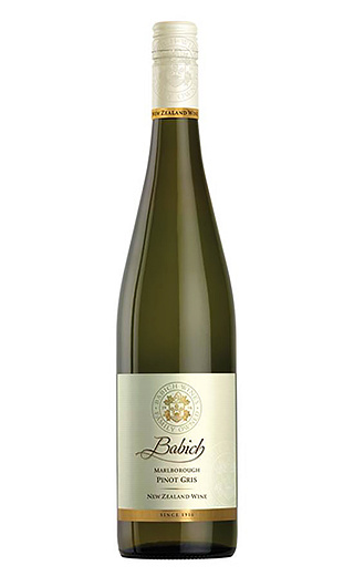 Вино Babich Marlborough Pinot Gris 0,75 л