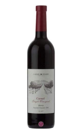 Кошерное вино Carmel Winery Shiraz Kayoumi Vineyard 2013 0,75 л