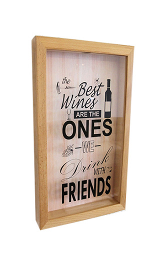 Box for wine corks The Best Wines Are The Ones We Drink With Friends