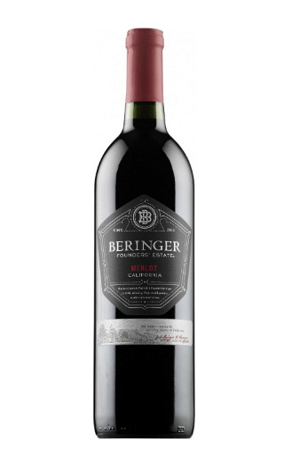 фото вино Beringer Founder's Estate California Merlot 2015 0,75 л