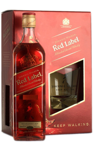 фото виски Johnnie Walker Red Label 0,75 л