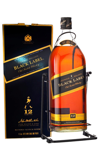 фото виски Johnnie Walker Black Label 4,5 л