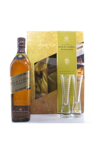 фото виски Johnnie Walker Gold Label On Display Pack 0,75 л