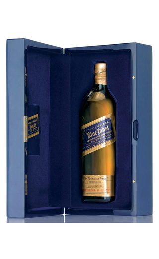 фото виски Johnnie Walker Blue Label Deep Blue Pack 0,75 л