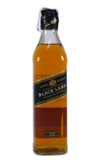 Виски Johnnie Walker Black Label 0,375 л