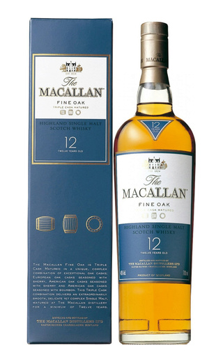 Виски Macallan Fine Oak 12 Years Old 0,7 л