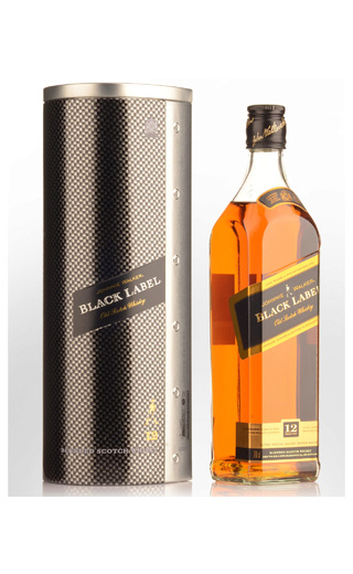 фото виски Johnnie Walker Red Label Vodafone McLaren Mercedes Tin 1 л