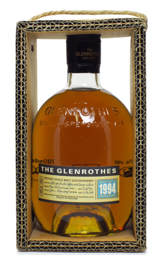 фото виски Glenrothes Single Speyside Malt 1994 13 Years 0,7 л