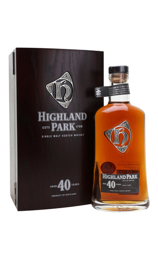 фото виски Highland Park Aged 40 Years 0,7 л