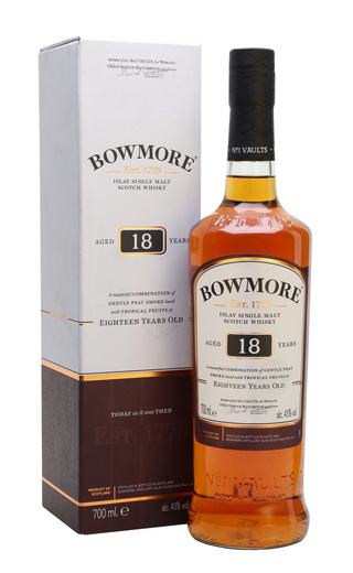 Виски Bowmore 18 years 0,7 л
