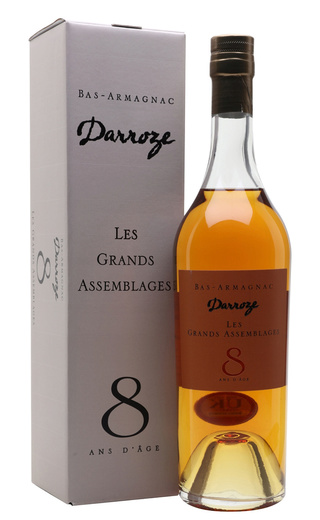 фото арманьяк Francis Darroze Bas-Armagnac Les Grands Assemblages 8 ans d'age 0,7 л