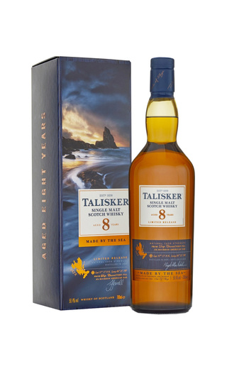 фото виски Talisker 8 Years Old 0,7 л