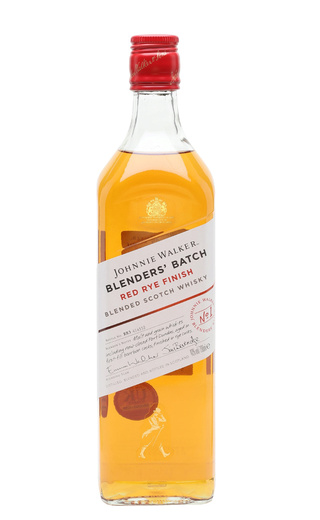 фото виски Johnnie Walker Blenders Batch Red Rye Finish 0,7 л