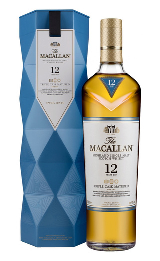 фото виски Macallan Triple Cask Matured 12 Years Old 0,7 л