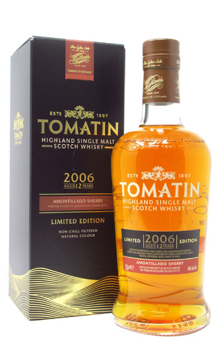 фото виски Tomatin Amontillado Sherry 2006 0,7 л